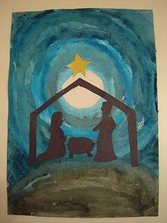 Lessons On Longview: Advent Activity - The Nativity Christmas Rock, Christmas Nativity Scene, Preschool Christmas, Christmas Activities, Christmas Projects, Kids Christmas, Nativity Scenes, Christmas Bells, Christmas Printables