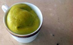 Mousse de mango con aguacate (Receta)