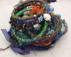 Any Two Sari Bracelets for 20.00 by ThreeCatCreations on Etsy, $20.00