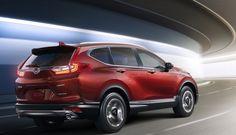 Кроссовер Honda CR-V модельного ряда 2017 года получил турбированный двигатель