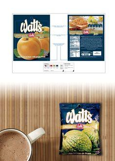 Watt's - Diseño de envases de Mermeladas (Chile)