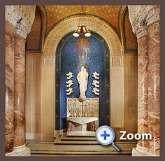 Our Lady of Mount Carmel. The National Shrine of the Immaculate Conception - Washington DC