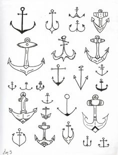 Anchor tattoo #tattoo design #tattoo patterns| http://tattoo-patterns-dylan.blogspot.com