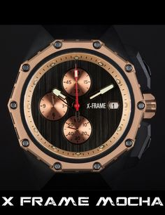 Check out the X-Frame Watch on Kickstarter