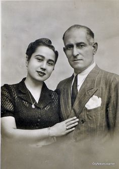 Greek couple, probably mid-1930s