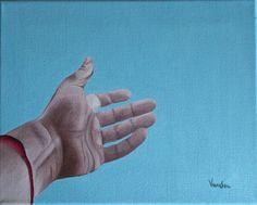 Vanessa Mazzali L'aiuto (2013). Olio su tela