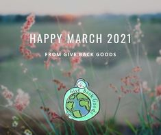 @givebackgoods posted to Instagram: Let spring begin. . . Shop to protect the seasons at GiveBackGoods.com (link in bio, shipping is always included). . . #GiveBackGoods #GiveBack #gogreen #ecofriendly #zerowaste #sustainability #sustainable #eco #nature #environment #green #gogreen #savetheplanet #fairtrade #handmade #organic #climatechange #fightclimatechange #earth #bethechange #recycle #reuse #reducewaste Happy March, International Holidays, Reduce Waste, Giving Back, Save The Planet, Go Green, Climate Change, Reuse, Sustainability