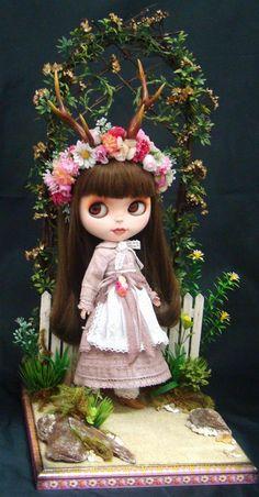 Blythe Doll Custom by R. Szani Diorama by R.Szani Outfit by Wivi Szani (Wilma Garcia) Maison Szani Art & Fashion
