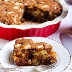 Glorious Gingerbread and Apple Bake