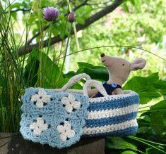 Passer til Maileg Micro og Storesøstermus Tween, Straw Bag, Pattern, Threading, Model, Patterns