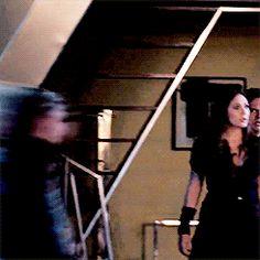 Pietro being protective of Wanda.