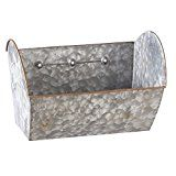 Midwest CBK x Galvanized Metal Hanging Wall Planter Antique style wall pocket can be used as a planter or for storage & organization. Metal Hanging Planters, Vertical Wall Planters, Succulent Wall Planter, Planter Garden, Laundry Decor, Laundry Room, Galvanized Metal, Plant Wall, Metal Walls