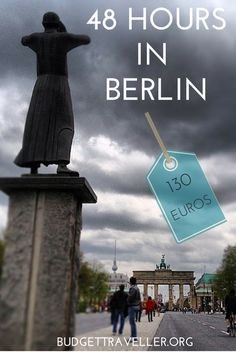 48 Hours in Berlin Berlin. I can't think of any city in Europe which has a more cutting edge scene. Berlin Travel, Germany Travel, Europe On A Budget, Holocaust Memorial, Cities In Europe, The Beautiful Country, Cruise Travel, Tours, Adventure Is Out There