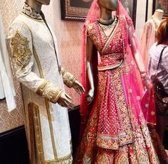 His and Her Couture by Tarun Tahiliani