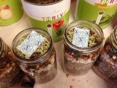 THRIVE Food Minestrone Soup - Meal In A Jar