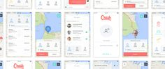 Chalvet's recent design project presents a map app design concept, Crash. Crash shows off a very clean interface that appears very simple to use.