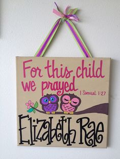 Custom HandPainted Sweet Precious For This by WhatchawantDesign, $45.00