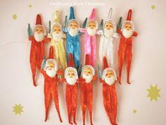 *昭和 レトロ クリスマスオーナメント 飾り モールサンタ | Sumally