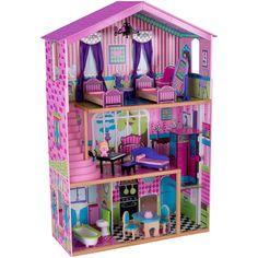 casita rosada