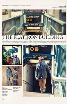 The flatiron Building #magazine fall winter collection#fredmello #fredmello1982 #newyork #advcampaign#accessories#fallwinter13 #accessible luxury #cool #usa #mancollection