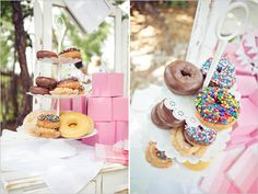 Bridal Shower Brunch Ideas--so many great ideas here!  #Wedding #Watters http://www.pinterest.com/wattersdesigns/