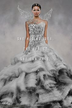 Maximum effect with your wedding or prom dress! Hungergames Quotes at Spoken.ly