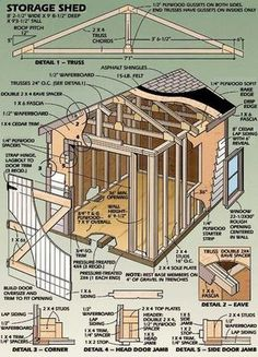 #shed #backyardshed #shedplans Shed Plans