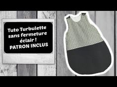 Gigoteuse facile sans fermeture éclair - Pop Couture [Tuto] Sewing an Easy Sleeping Bag without Zipp Sewing Machine Projects, Sewing Projects For Kids, Sewing For Kids, Free Sewing, Pop Couture, Baby Couture, Sewing Kids Clothes, Youtube, Sewing Projects For Beginners