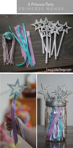 A Princess Party � 3 Simple DIY�s | http://fancylittlethings.com/2012/09/a-princess-party-3-simple-diys/