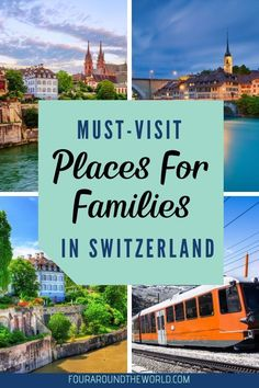 Discover the best things to do in Switzerland with kids, with the best way to travel around Switzerland & the must-visit cities to visit with family in 2020 Switzerland Cities, Visit Switzerland, Travel With Kids, Family Travel, Ways To Travel, Travel Tips, Swiss Travel, Cool Countries, Family Adventure