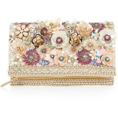 Accessorize Summer Floral 3D Clutch Bag