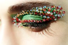 Christian Dior: Bright Eyes/Backstage at the Spring/Summer 2013 show.