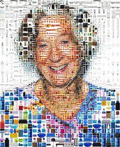 IKEA Sweden: Mosaic Grandma by tsevis, via Flickr