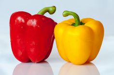 ⭐ Get this free picture Yellow and Red Bell Pepper    ▶ https://avopix.com/photo/41985-yellow-and-red-bell-pepper    #sweet pepper #pepper #bell pepper #vegetable #food #avopix #free #photos #public #domain