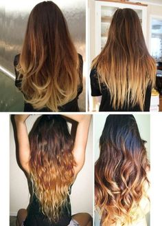 How to Do Ombre Hair With Hydrogen Peroxide. 💇 | Recipe | Hydrogen ...