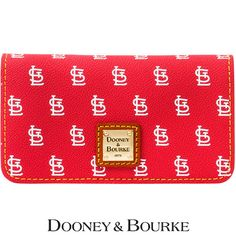St. Louis Cardinals MLB Signature Large Slim Phone Wallet by Dooney & Bourke - MLB.com Shop