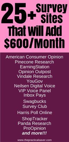 survey for money l make money fast l make money at home l make money online l earn extra money