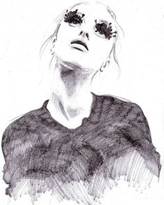 by anaguann on flickr fashion illustration