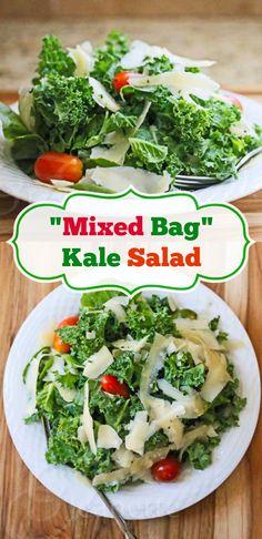 Mixed Bag Kale Salad | Easy, Delish  Healthy!