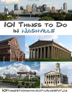 101 Things to Do...: 101 Things to do in Nashville @Christina & O'Malley @Olivia García Christine @Raychel Grand Betkoski