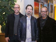 Leopoldo Martins, Carlos Mandelik, Luiz Sternick