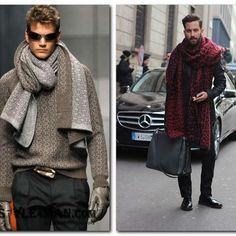Как выбрать мужской шарф — виды модных мужских шарфов!  ❄️❄️⛄❄️❄️⛄⛄⛄❄️❄️❄️  Летом мы готовы снять с себя последнюю рубашку, а вот в межсезонье или зимой, когда холодный ветер залезает за ворот, хочется утеплиться по максимуму.  Пальто, шапка и варежки – это, конечно, хорошо, но и мужские зимние шарфы не для манекенов придуманы – пора покупать его и себе, вязаный или трикотажный… Главное – потеплее.  Самые популярные материалы  Шерсть. Стопроцентный продукт овцеводства – это максимум…