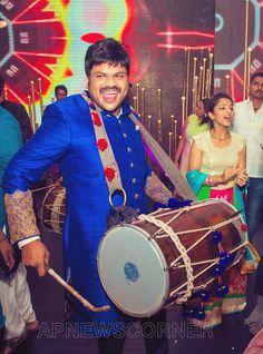 Manchu Manoj and Pranathi Reddy Sangeet Ceremony Photos