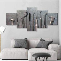 Dental Office Decor, Dental Office Design, Office Interior Design, Canvas Wall Art, Wall Art Prints, Canvas Prints, Office Waiting Rooms, Create Canvas, Clinic Design