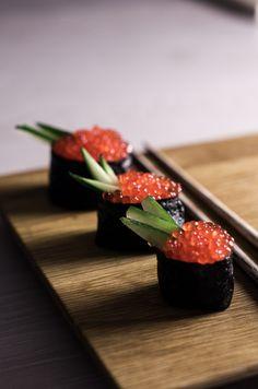 Sushi osa I – Nordic Atmosphere lohen mätiä ja nori-merilevää