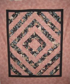 Asian Style Quilt Top by DelauneQuiltDesigns on Etsy, $110.00