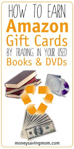 Have you tried the Amazon Trade-In Program? It's a free & easy way to earn Amazon credit for books/DVD's you own and no longer use or need!