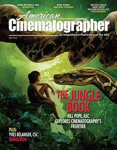 NEW ISSUE AMERICAN CINEMATOGRAPHER MAY 2016 PRINT ARRIVED 9.5.16