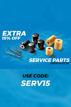 15% Off Service Parts - Selling Fast!  #car #autos #Automotive #cartips #autoparts #deals #HotDeals #discounts #rt #offers #VoucherCodes #HotUKDeals #VouchersGet #coupon #promo #onsale #sale #shopping