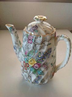 "Copeland Spode Patricia 1 7"" 4 Cup Coffee Pot   eBay"